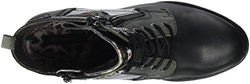 Bugatti Damen 411333321616 Stiefel Schwarz (Black/ Multicolour)
