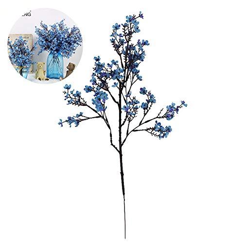1pc Simulieren Blumen Simulieren die Sterne künstlichen Blumen volle Stars und Blumen (blau)
