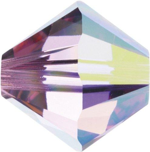 Original Swarovski Elements Beads 5328 MM 4,0 - Olivine (228) ; Diameter in mm: 4.0 ; Packing Unit: 1440 pcs. Rose Aurore Boreale (209 AB)