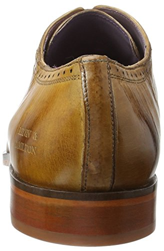 Melvin & Hamilton Lance 16, Chaussures à Lacets Homme Mehrfarbig (Crust Wood, Camel, Tortora LS NAT.)
