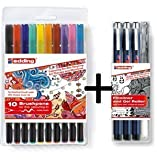 Zendoodle Colouring 1340 10er Set + Outline 4er Set
