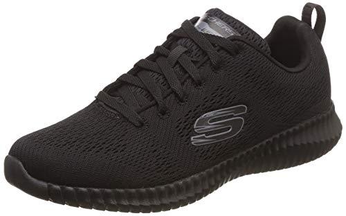 Skechers elite flex-clear leaf, scarpe da ginnastica uomo, nero (black bbk), 42 eu