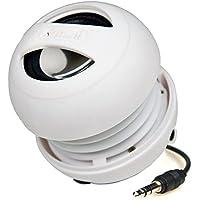 XMI X-Mini II 2a Generazione Altoparlante a Capsula per iPhone/iPad/iPod/Lettori MP3/Computer Portatili, Bianco
