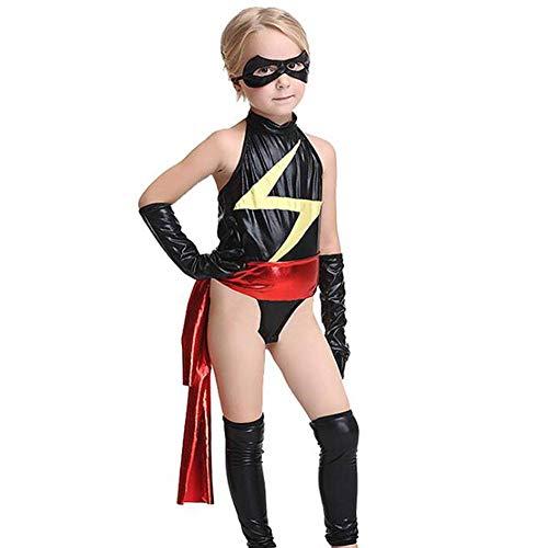 Kostüm Farbe Superman - QWE Halloween Kostüm Cosplay Kostüm maskiert Superman Rolle Spielen Kinder Performance Kleidung