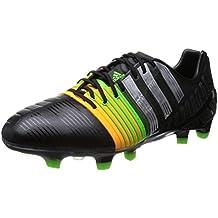 adidas Nitrocharge 1 FG, Herren Fußballschuhe, Schwarz (Core Black/FTWR White/Flash Orange S15), 47 1/3 EU (12 Herren UK)