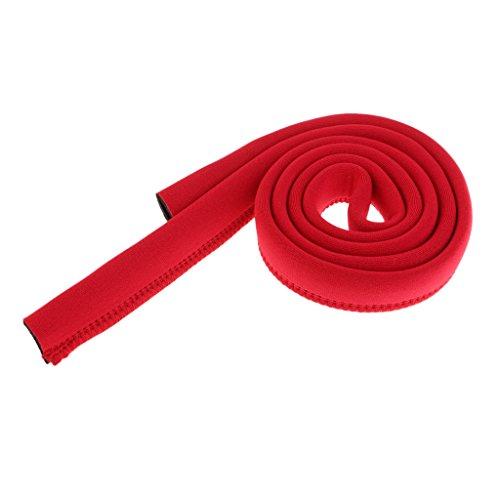 Sharplace Isolierter Neopren Trinkschlauch Abdeckung Cover Hülle - Rot