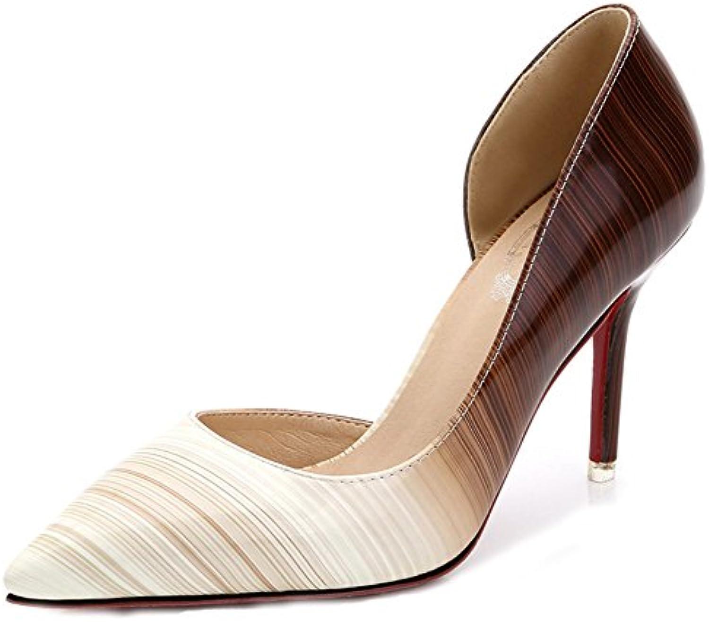 6c32f4255a0 Aisun womens pointed toe dressy low shoes top slip nhta jpg 1500x1326 Dressy  low heel shoes