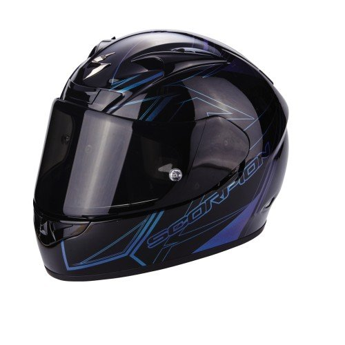 Scorpion Casco Moto EXO-710 AIR Line, Black/Chameleon, S