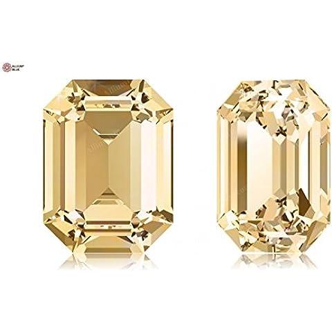 Crystals Swarovski Elements Fancy Stones 4610 MM18,0X 13,0 F - Light Colorado Topaz F (246)