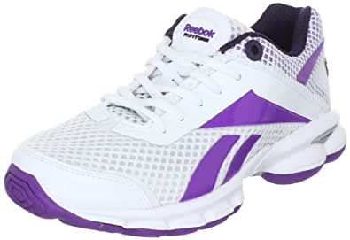 Reebok Runtone Plus Direct 150351, Damen Sportschuhe - Running, Weiss (white/major purple/stormy night silver 3), EU 39 (UK 6)