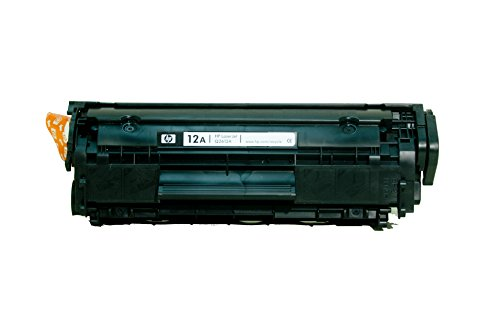 612A 12A (schwarz 2000 Seiten) HP LaserJet 1010, 1010w, 1012, 1015, 1018, 1018s, 1020, 1020 Plus, 1022, 1022n, 1022nw, 3015, 3020, 3030, 3050, 3050z, 3052, 3055, M1005 MFP, M1319 MFP, M1319f MFP (Toner Hp 1022)