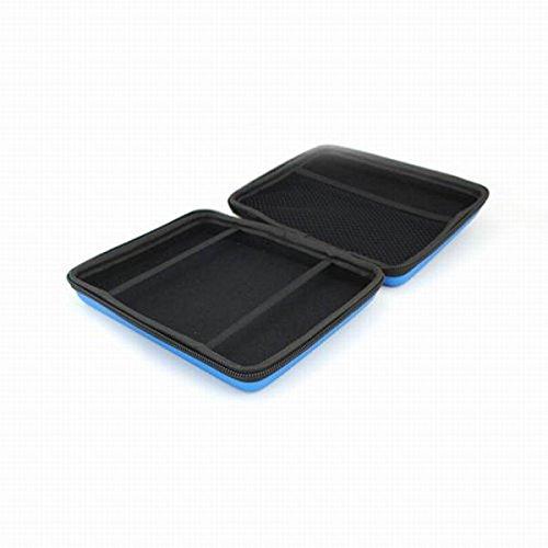 Preisvergleich Produktbild Gazechimp Reisen und Heim Speichern Case Schutz-Hülle Mit Umhängeband und Reißverschluss Für Nintendo 2Ds Konsole Tragen,15 x 14 x 4cm, Tragbare und praktische Tasche - Blau