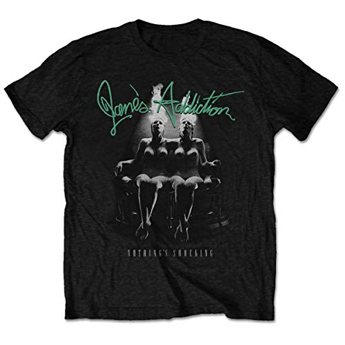 Janes Addiction Nothings Shocking Perry Farrell Tee T-Shirt Mens Unisex