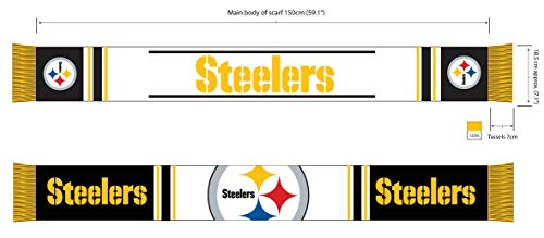 Forever Collectibles Pittsburgh Steelers Bar Scarf Colour Rush Schal Fanschal (Pullover Hässliche Com)