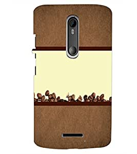 PrintDhaba Coffee Beans D-4320 Back Case Cover for MOTOROLA MOTO X3 (Multi-Coloured)