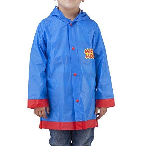 Disney -  giacca impermeabile - ragazzo blu blu