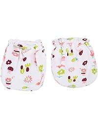 Idiytip Gants de nouveau-nés 100% coton super doux moufles bébé moufles de  coton 44671a74c69