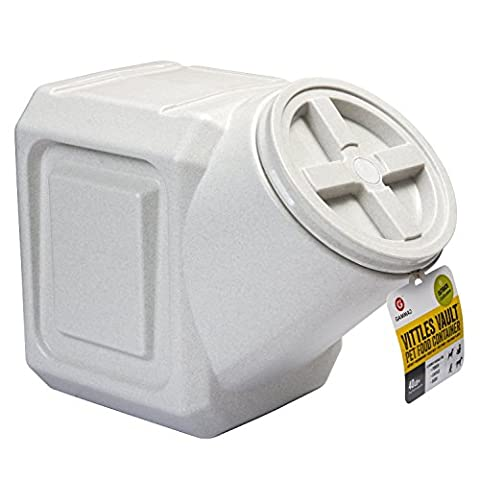 Gamma Vittles Vault Stackable Container Pet Food Storage Holder Durable 60 lbs