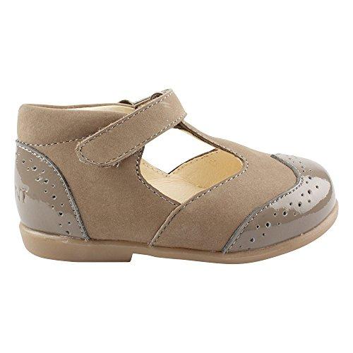 EN FANT Shoes, Ballerines fille Gris - Grau (Grey 07)