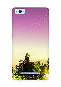 Amez designer printed 3d premium high quality back case cover for Xiaomi Mi5 (Trees and sky)