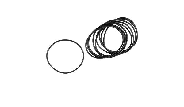 Metrisches O Ringe schwarz Nitrilkautschuk 90/mm OD 3/mm St/ärke 10/PCS