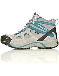 Trezeta - Zapatillas de senderismo para mujer negro, azul y gris