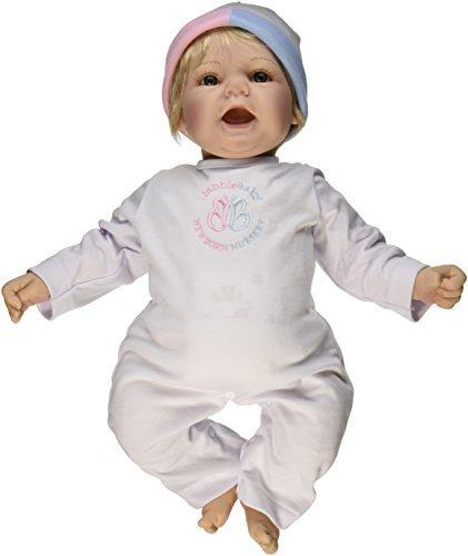 Madame Alexander Babble Baby, Blonde Hair, Blue Eye Sweet Baby Doll by Madame Alexander
