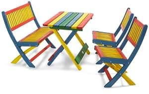 Habau Kinder-Garnitur, Mehrfarbig, 4-teilig