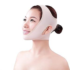 SUPVOX Gesicht Abnehmen Maske Doppelkinn Maske V-Linie und Anti-Falten Gesichtsbandage Gesichtsmaske Größe L