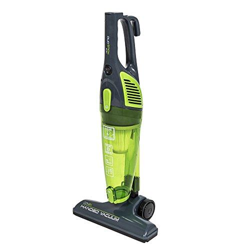Cecotec Conga Duostick Easy - Aspirador ciclónico vertical 2 en 1 (escoba y de mano sin bolsas, 800 W, Filtro HEPA) color negro y verde