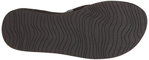 Reef Damen Cushion Threads Tx Sandalen Schwarz (Black/White)