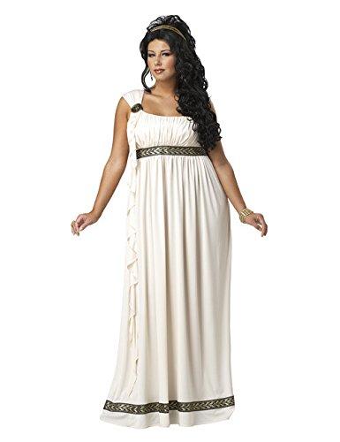 nen Kostüm für Damen Plus Size XXXL (Plus Size Göttin Kostüme)
