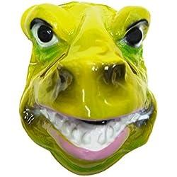 Máscara de dinosaurio Rex, plástico, rígida