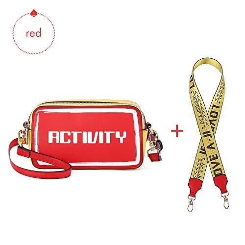 IHMBUI Umhängetaschen Frauen umhängetaschen hot Klassische Flap Bag mit leinwand Strap Leder Brief handtaschen Messenger Bags Totes - Klassische Flap Bag