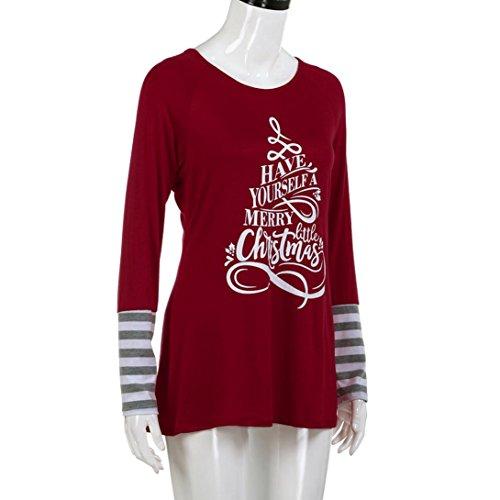 HKFV -  Gilet sportivo  - Natale - Donna Red S