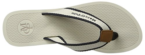Marc O'Polo - 70314031001611 Beach Sandal, Sandali Donna Bianco (Cream)