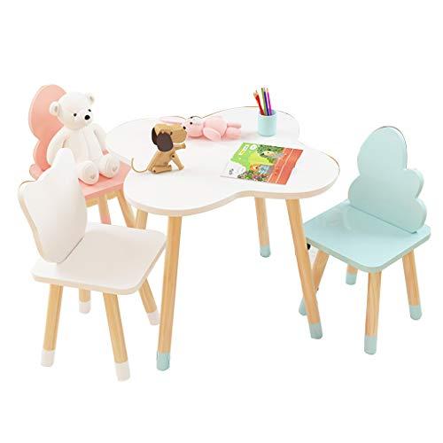 Tisch & Stuhlsets Kinder Tisch und Stuhl Set Kinder Früherziehung Studie Tisch und Stühle Kinder pädagogisches Spielzeug Tisch Bausteine Spielzeug Spiel Tisch Baby Kunststoff Esstisch und Stühle Hom