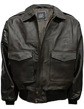Flight Tech A2 con diseño de chaqueta de cuero