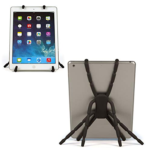 Spider Tablet-Halterung – Flexible, Verstellbare Hülle, Ständer, Halterung, multifunktional, tragbar, Flexibler Griff Positionierungsgerät für CSL Panther Tab 7, Atom Z3735G