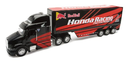 Die Cast Peterbilt 387, Honda Red Bull Truck