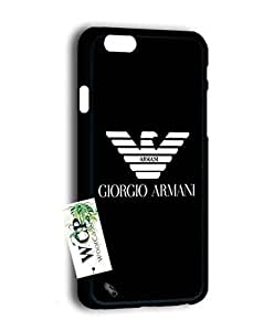 Iphone 6 Coque, Armani Brand Modern Lightweight Projective Bumper Case Cover for Iphone 6, Iphone 6S