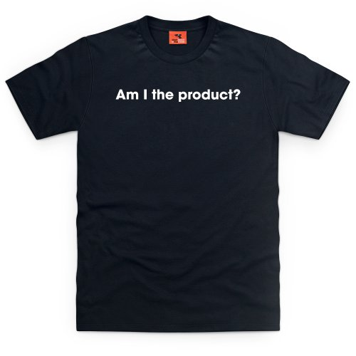 Am I The Product ? T-Shirt, Herren Schwarz