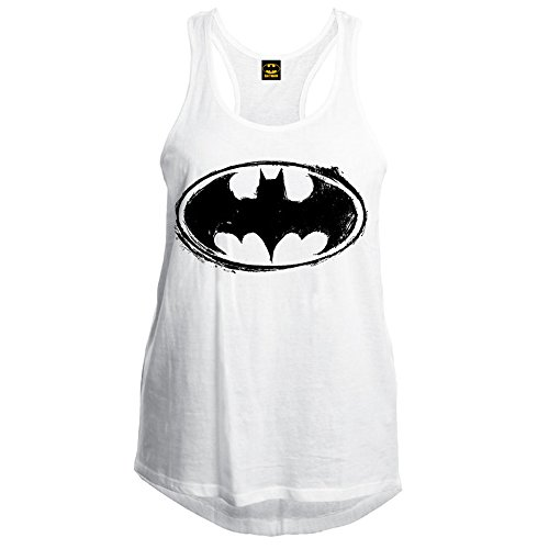 Batman - Camiseta de tirantes - Sin mangas - Mujer blanco X-Large