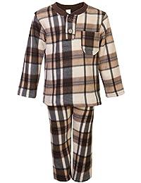 Kids Ropa De Dormir Pijamas Chicos Chicas Polar Pijama Conjunto Camisa Pantalones Ropa De Dormir 1