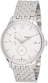 Tissot Mens Quartz Watch, Analog Display and Stainless Steel Strap T063.639.11.687.15