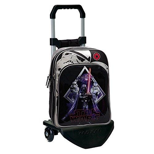 Imagen de star wars 21924m1 darth vader  escolar adaptable a carro, color negro