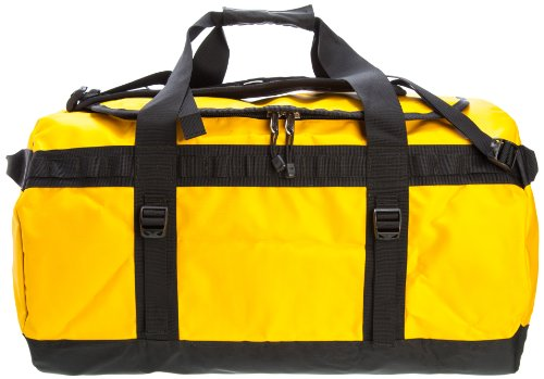 The North Face, Borsa da viaggio Base Camp Duffel, Giallo (summit gold/tnf black), 51 x 31 x 31 cm