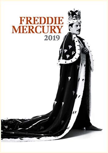 2019 Kalender [12 pages 20x30cm] Freddie Mercury Vintage Musik Photos Plakats Queen
