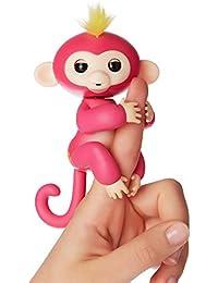 Fingerlings Äffchen interaktives Spielzeug, reagiert auf Geräusche, Bewegungen und Berührungen