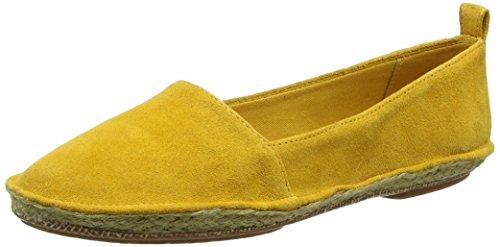 Clarks Clovelly Sun, Espadrillas Donna, Giallo (Yellow Suede), 39.5 EU
